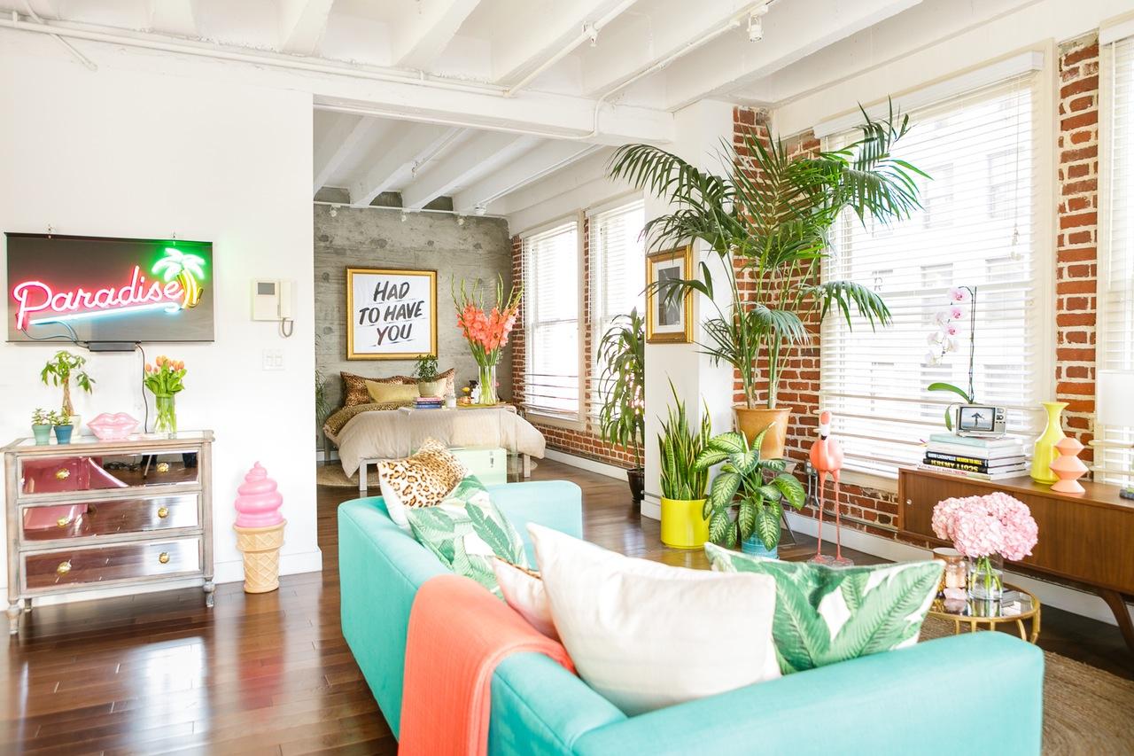 @pfairytale Vibrant LA home