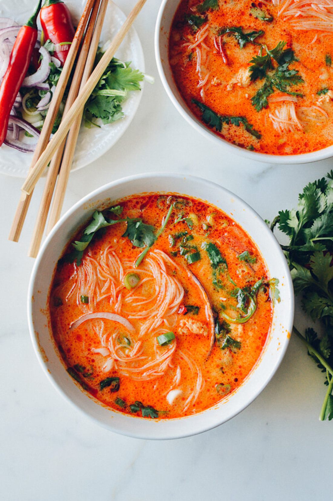 @pfairytale Coconut Curry Noodle Soup