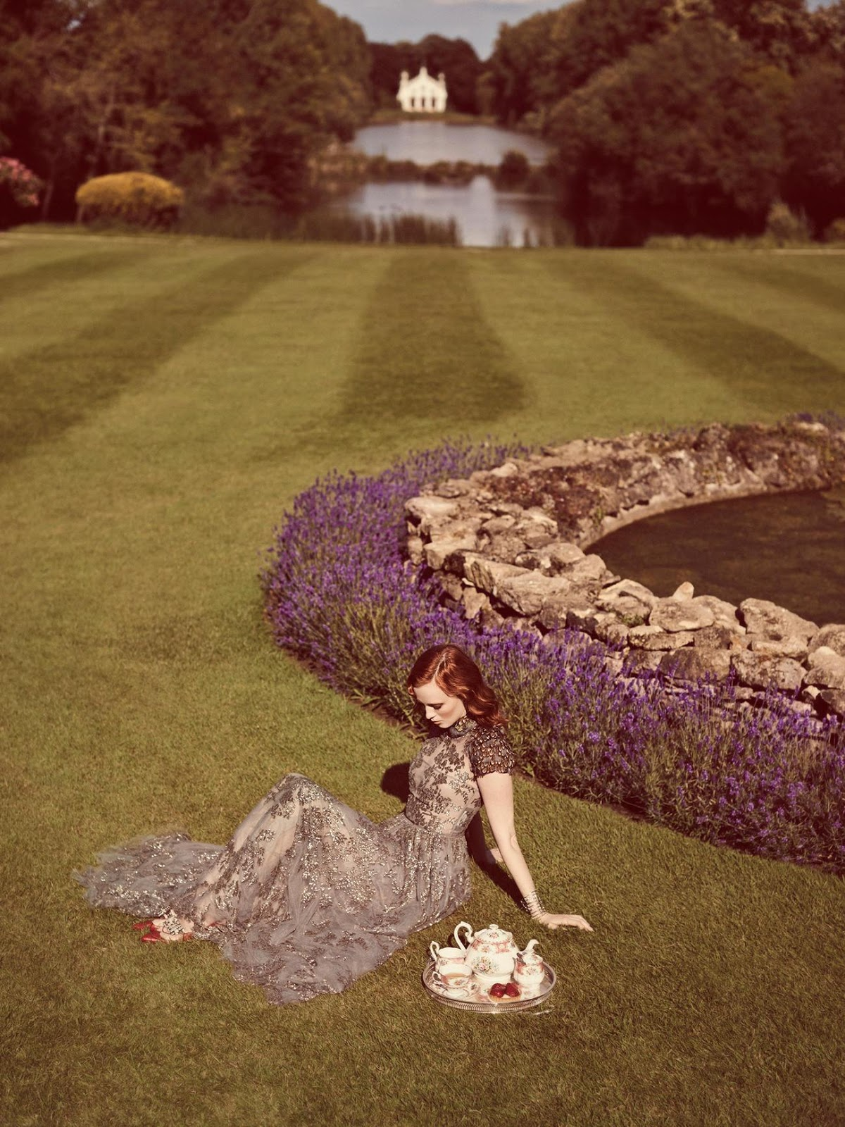@pfairytale Karen Elson for Stylist UK September 2014