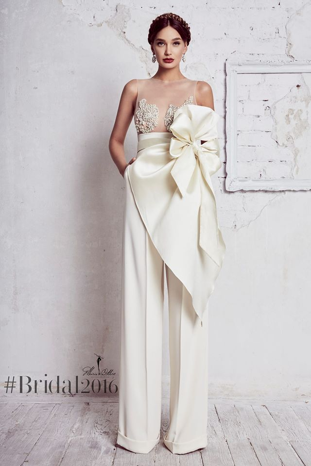 @pfairytale 10 Bridal Styles with Pants