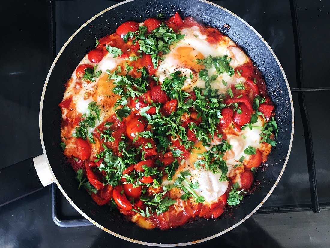 @pfairytale shakshuka for breakfast