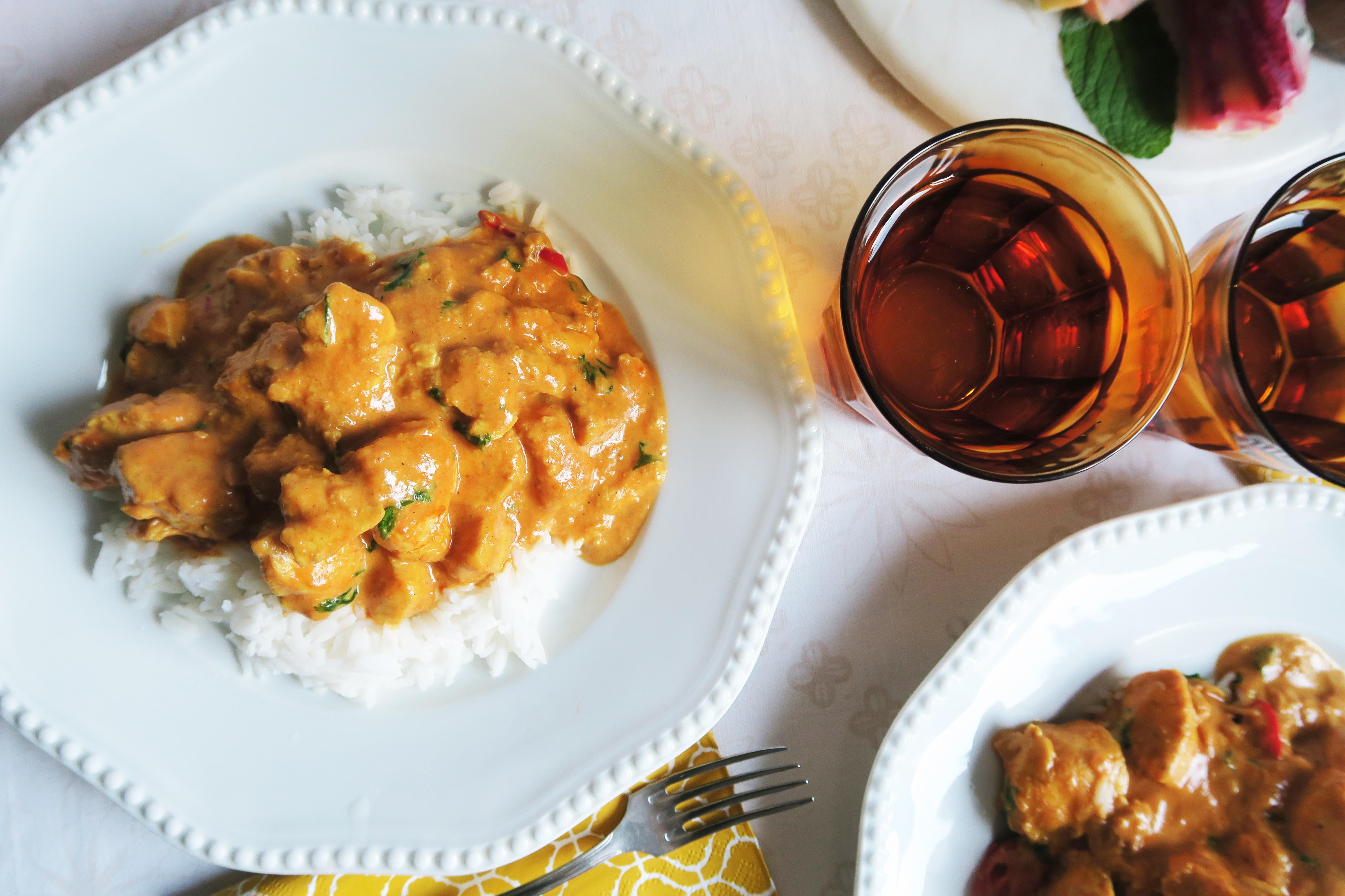 @pfairytale Indian Inspired Chicken
