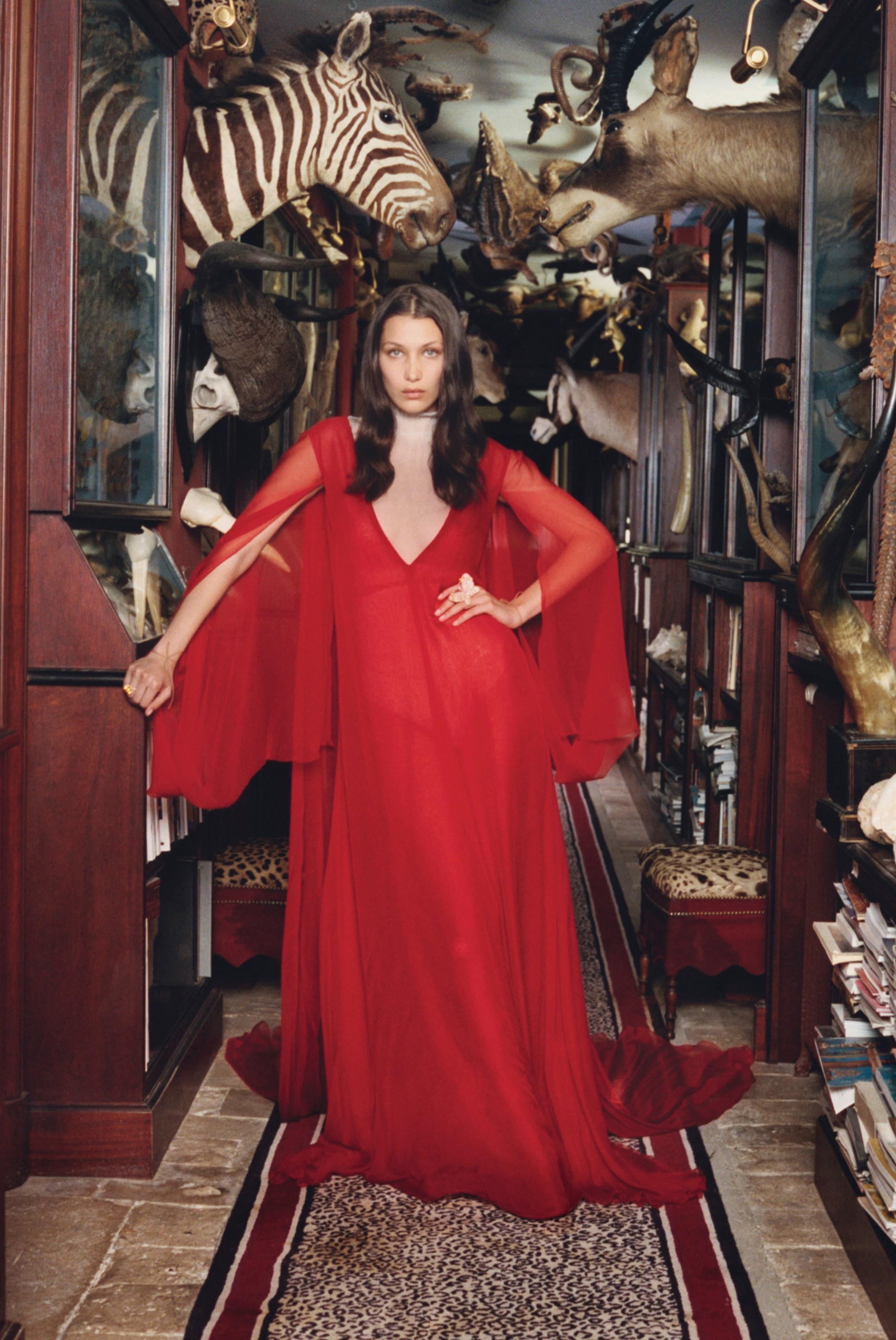 @pfairytale Bella Hadid for W Magazine