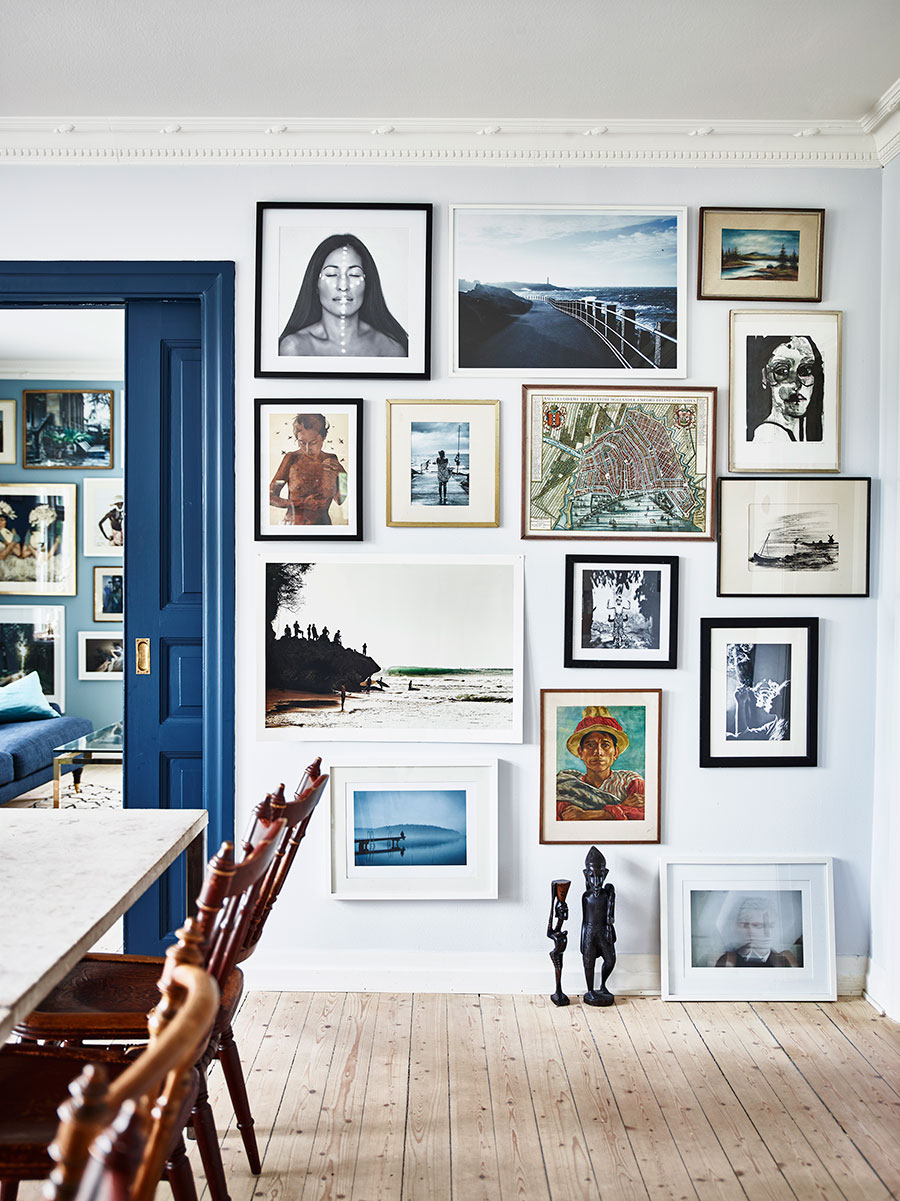@projectfairytale: An Inspiring Home in Shades of Blue