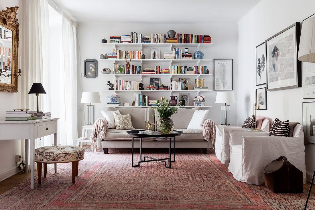 @projectfairytale: Charming and Artsy Swedish Home