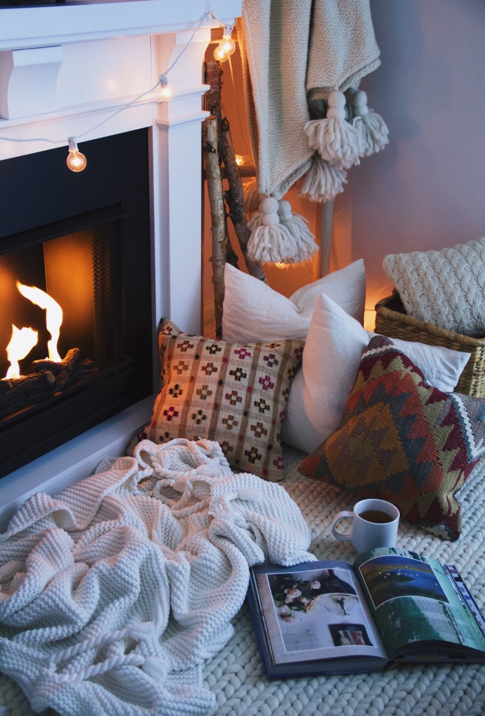 @projectfairytale Cozy winter home