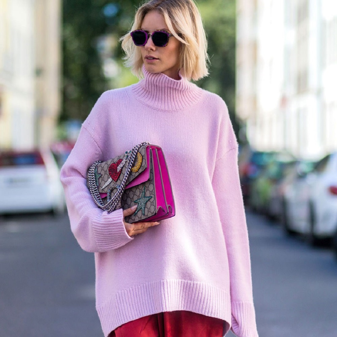 @projectfairytale pink sweaters for January