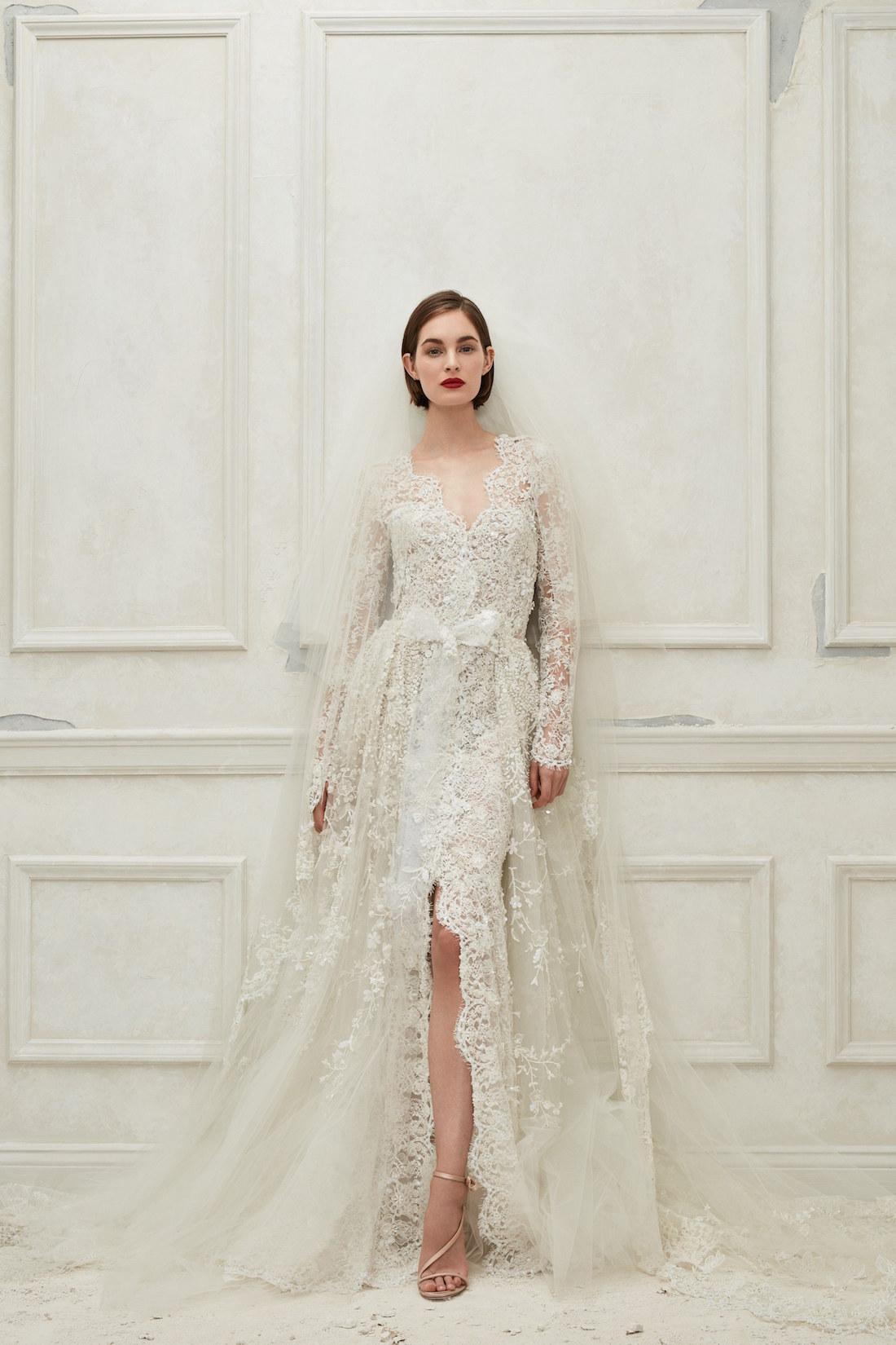 @projectfairytale: Oscar de la Renta Bridal Fall 2019